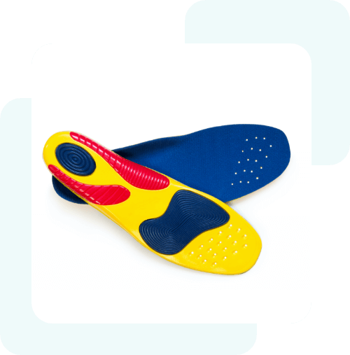 Sportowe wkładki do butów
